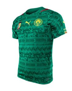 Buy Puma Cameroon Home Jersey World Cup 2014 Green (M)