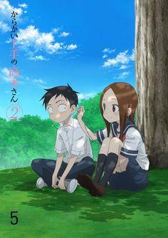 karakai jouzu no takagi-san Chica Anime Manga, Anime Kawaii, Anime Art, Anime Poses Female, Dibujos Anime Chibi, Simple Anime, Sans Cute, Estilo Anime, Animes Wallpapers