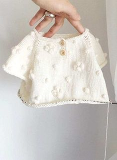 Baby Knitting Patterns Pretty hand-knitted baby sweater Velvetknit on … – Bab… – Knitting Ideas Baby Knitting Patterns, Knitting Baby Girl, Knitting For Kids, Easy Knitting, Knitting Designs, Baby Patterns, Crochet Baby, Baby Sweater Knitting Pattern, Knitting Sweaters
