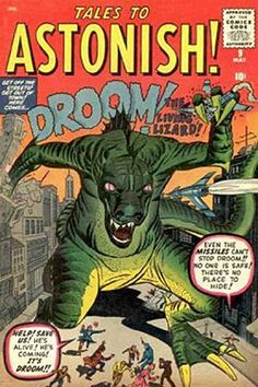 Tales To Astonish ~ 50's