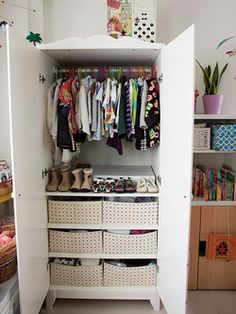 Baby Closet...you Could Do This And Still Have Your Closet!