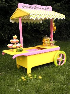 Lemonade Watermelon or Strawberry Stand by paisleycoutureframes, $450.00