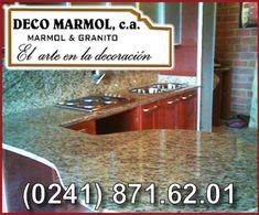 """Deco Marmol, C.A., """"el arte de la decoración"""" es una empresa de gran trayectoria, dedicada a la elaboracion de topes tanto de cocinas como para baños, transformando la piedra natural de granito y marmol en piezas. Estamos en la Urb. Terrazas de Castillito, Av. Intercomunal San Diego C/C 103, C.C Prati, Galpon 1, San Diego Edo. Carabobo. Llámanos al  (0241) 871.62.01."""