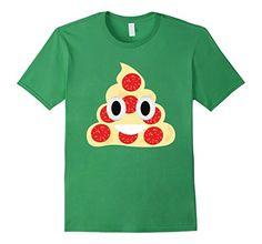 Pizza Poop Emoji T shirt  Grass BelDi Emoji T shirt - Pizza emoji t shirt, poop emoji