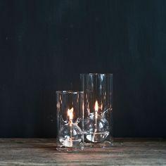 Tell Me More Oljelampa Stor - Populärast på Sleepo Minimal Living, Oil Lamps, Pint Glass, Candle Holders, Vase, Candles, Lights, Tableware, Interior