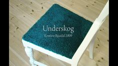 Underskog – the textile that grows beautiful through wear and tear by Kristine Bjaadal. Upholstery fabric prototype, designed by Kristine Bjaadal.