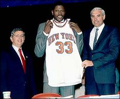 Patrick Ewing became the NBA's first-ever No. 1 lottery pick in 1985.