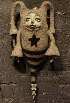 Art doll by Keely Benkey