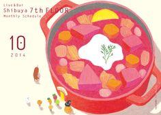 Shibuya 7th FLOOR « agasuke – graphic design + illustration