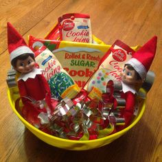 Creative Elf on the Shelf Ideas #christmascrafts