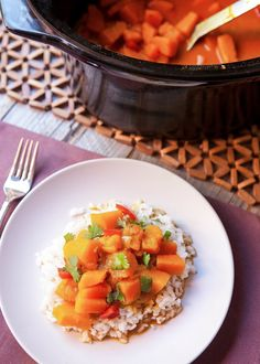 Recipe: Slow Cooker Vegan Pumpkin Curry