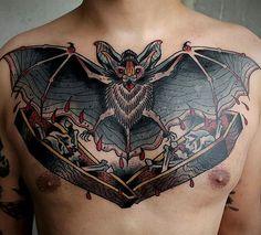Tattoo by Sergey Vaskevich