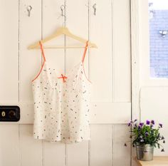 Evie's Fifi camisole - sewing pattern by Tilly and the Buttons Tilly And The Buttons, Pj Sets, Evie, Sewing Patterns, Camisole Top, Summer Dresses, Tank Tops, Instagram Posts, Women