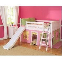 Loft bed little girl's bedroom