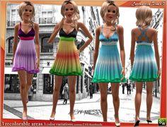BabyDoll dress @ Lorandia Sims 3