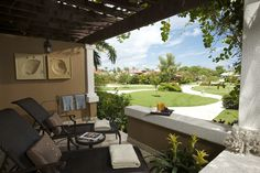 Patio view #tranquility #relaxation #sandalsgrandeatiguaresort