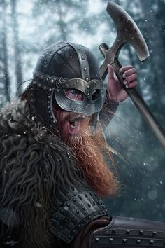 Erik the Red by JFoliveras.deviantart.com on @DeviantArt