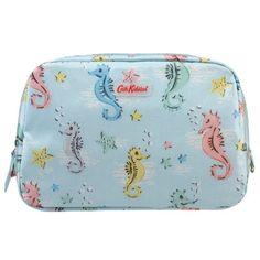 Small Seahorses Classic Box Cosmetic Bag