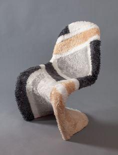 """CozyMir"" Panton chair by Arseny Salnikov"
