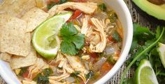 Mexican Chicken Lime Soup | Inspired Dreamer