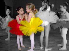 color splash ballet