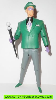 dc direct RIDDLER batman animated collectibles universe action figures