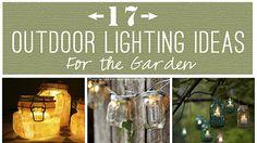 Outside lighting methods