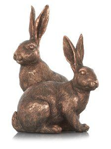 Buy George Home Bronze Hare Ornament  from our Home Accessories range today from George at ASDA.