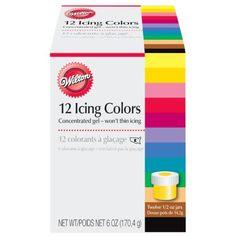 Wilton® 12 Color Cookie Icing Kit | Sur La Table