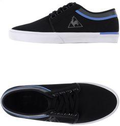 2c8266c2e5861c Men s Black Faux-Leather Low-Top Sneakers