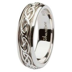 An artistic version of a symbol of endlessness and timeless nature, this exquisite Celtic knot in sterling silver reflects the never ending bond of marriage in a stylish way. This Celtic knot wedding ring is embellished with Celtic links which is the best example of Celtic grandeur where each Celtic link is interconnected and symbolizes the strong independence in both the people involved in the relationship.The Vitality of Celtic Link KnotCeltic wedding rings have always been designed with…