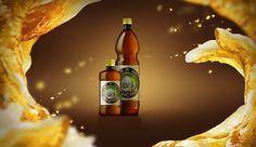 A selection of illustrations for beer companies.CGI, photography…