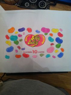 Jelly beans drawing