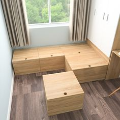 Diy Furniture Storage Small Spaces - New ideas Space Saving Furniture, Diy Furniture, Furniture Design, Plataform Bed, Small Apartments, Small Spaces, Bed Design, House Design, Design Room