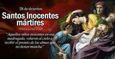 Santos Inocentes, 28 de Diciembre.