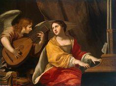 Sainte-Cécile, Jacques Blanchard (1600-1638, France)