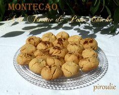 Montecaos ou Mantecados à la farine de pois chiche