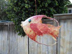 Soda Bottle Fish pink