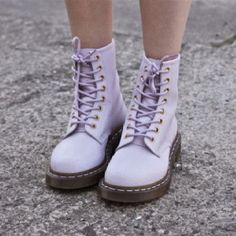 Lavender Docs are needed in my wardrobe