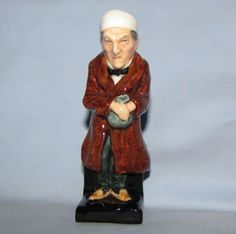 Royal Doulton Scrooge Figurine - Another miniature in my RD collection.