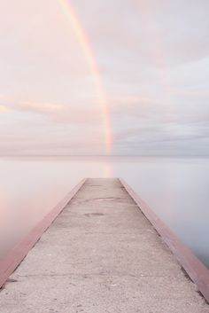 Pastel rainbows.
