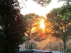 sun set in Panzano