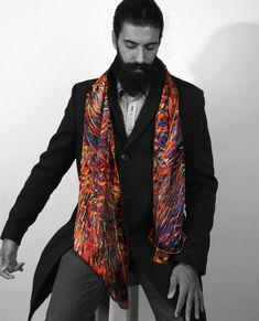 b89cb650ac90 53 Best Men's fashion scarves - Stand out on spring and summer ...