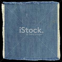 Jeans patch (XXXL) Royalty Free Stock Photo