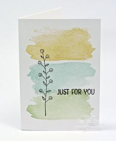 Resultado de imagen para simple flower painted card