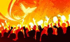 The Holy Spirit is Here!!!