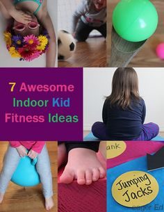 I is for Indoor Fitness Roundup - Gross Motor by eager Ed Physical Activities For Kids, Gross Motor Activities, Movement Activities, Gross Motor Skills, Infant Activities, Fitness Activities, Exercise For Kids, Children Exercise, Kids Workout