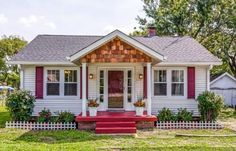 Cottage Exterior Makeover - Home Ideas For Curb Appeal
