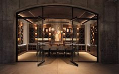 The 'Law Winery' located in Paso Robles, California, USA - Designed by BAR Architects