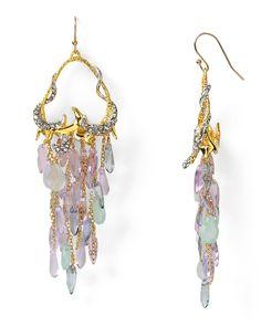 Alexis Bittar Siyabona Gold Peruvian Chalcedony Cluster Earrings | Bloomingdale's